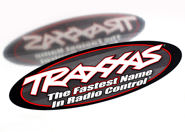 Traxxas 9' Oval Decal, 2 Sided