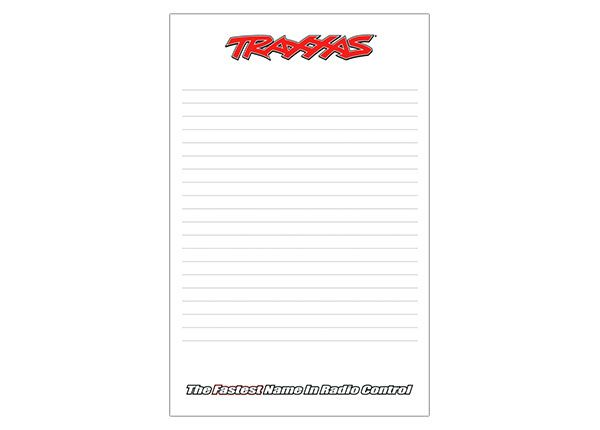 "Traxxas Notepad 5.5x8.5"" Lined"