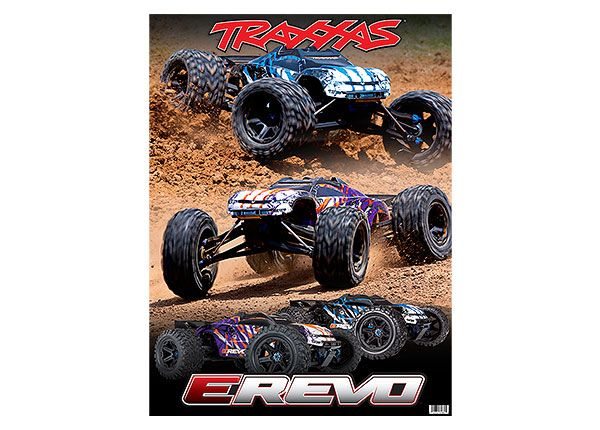 Traxxas E-Revo 36x48 Vinyl Window Graphix