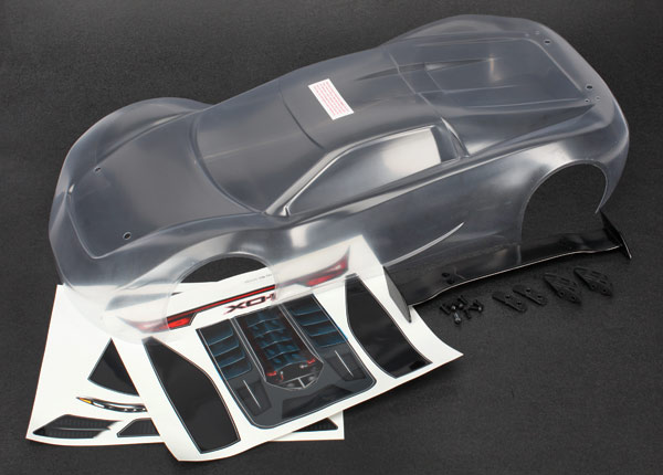 Traxxas Body & Wing, XO-1 (clear, requires painting)
