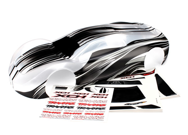 Traxxas Body, XO-1, ProGraphix (graphics are printed, requires p