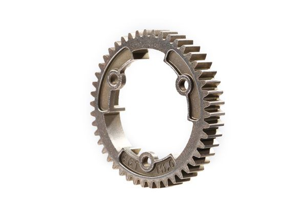 Traxxas Spur gear, 46-tooth, steel (wide-face, 1.0 metric pitch)