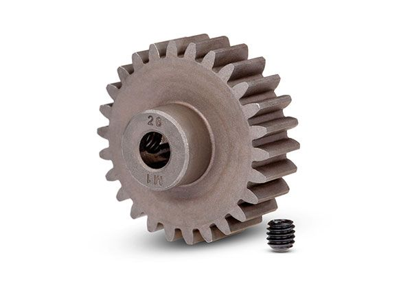 Traxxas Mod 1 Steel Pinion Gear 5mm Shaft (26)