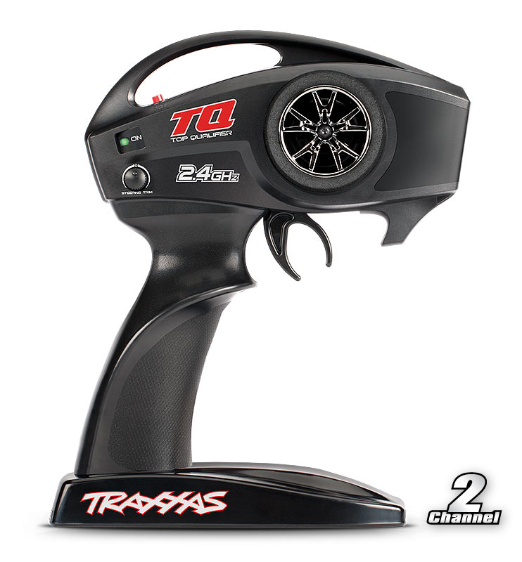 Traxxas Transmitter, TQ 2.4GHz high output, 2-chanel