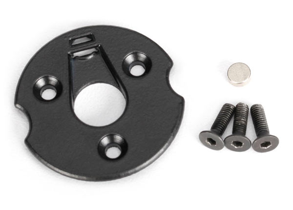 Traxxas Telemetry Trigger Magnet Holder & Spur Gear Magnet