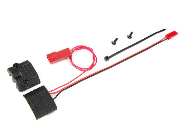 Traxxas Connector, power tap (with voltage sensor)/ wire tie (2)