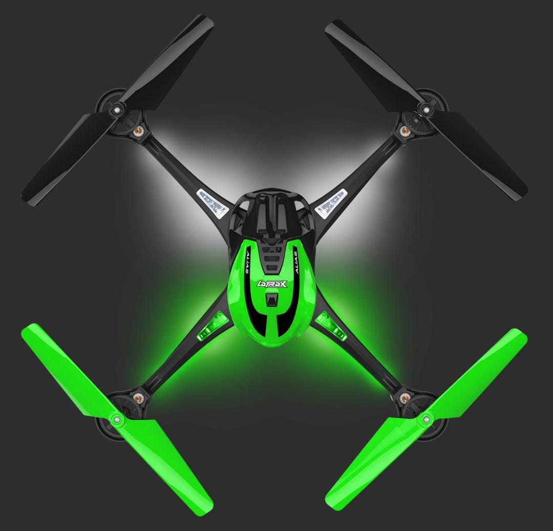 Traxxas LaTrax Alias Ready-To-Fly Micro Electric Quadcopter Drone Green
