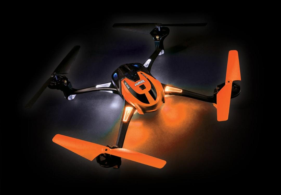 Traxxas LaTrax Alias Ready-To-Fly Micro Electric Quadcopter Drone Orange