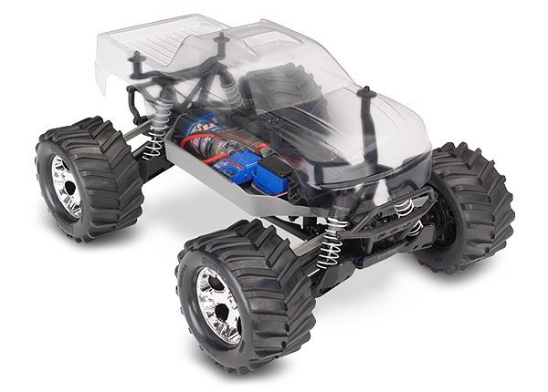 Traxxas Stampede 4X4 Assembly Kit: 4WD Chassis with TQ 2.4GHz radio system and XL-5 ESC (fwd/rev)