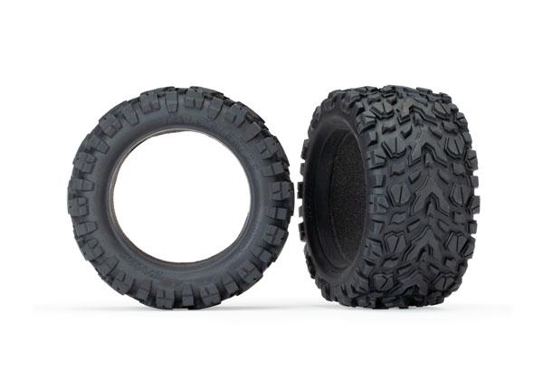 Traxxas Tires, Talon EXT 2.8' (2)/ foam inserts (2)