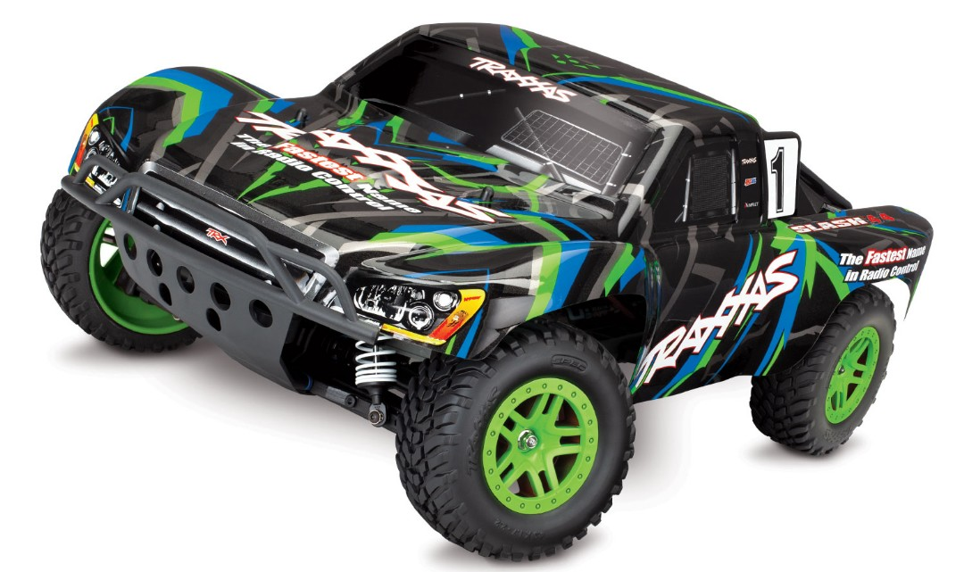 Traxxas Slash 4X4 1/10 4WD XL-5 RTR Short Course Truck Green