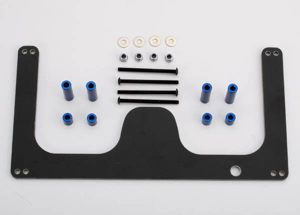 Traxxas Fiberglass Go-Pro Camera Mount (Blue)