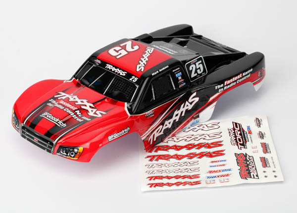 Traxxas Body, Mark Jenkins #25, 1/16 Slash (Painted, Decals Applied)