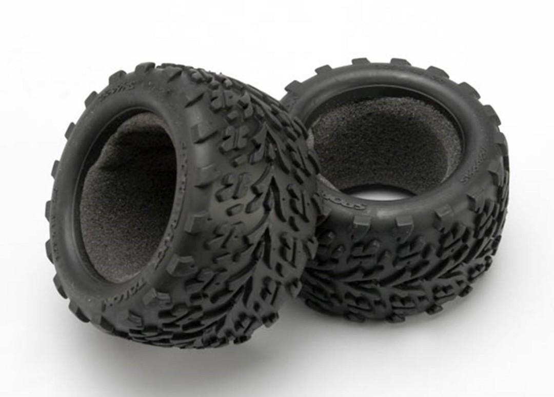 Traxxas Tires, Talon /Foam Inserts (2)