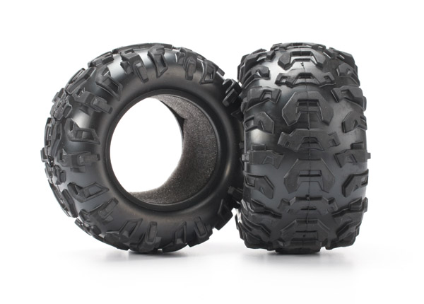 Traxxas Tires, Canyon At 2.2' (2)/ Foam Inserts (2)