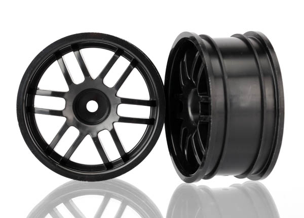Traxxas Wheels, Rally (Black) (2)