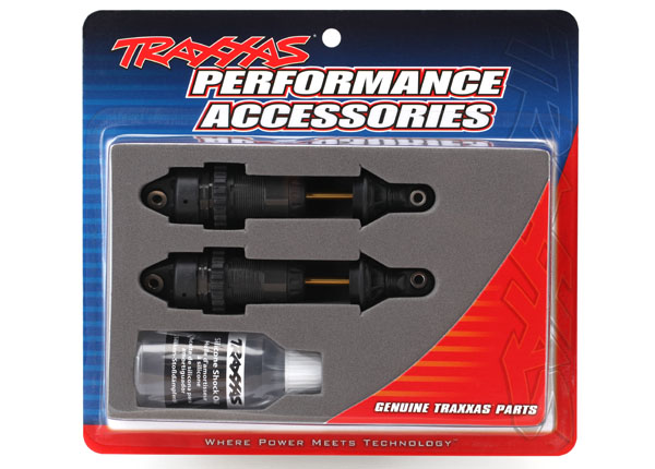 Traxxas GTR Long Hard Anodized Shocks (2)