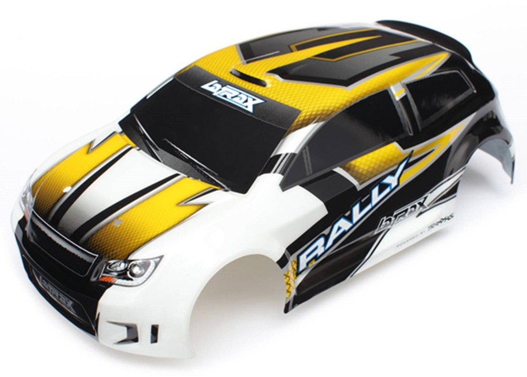 Traxxas Body (Yellow), LaTrax 1/18 with Decals