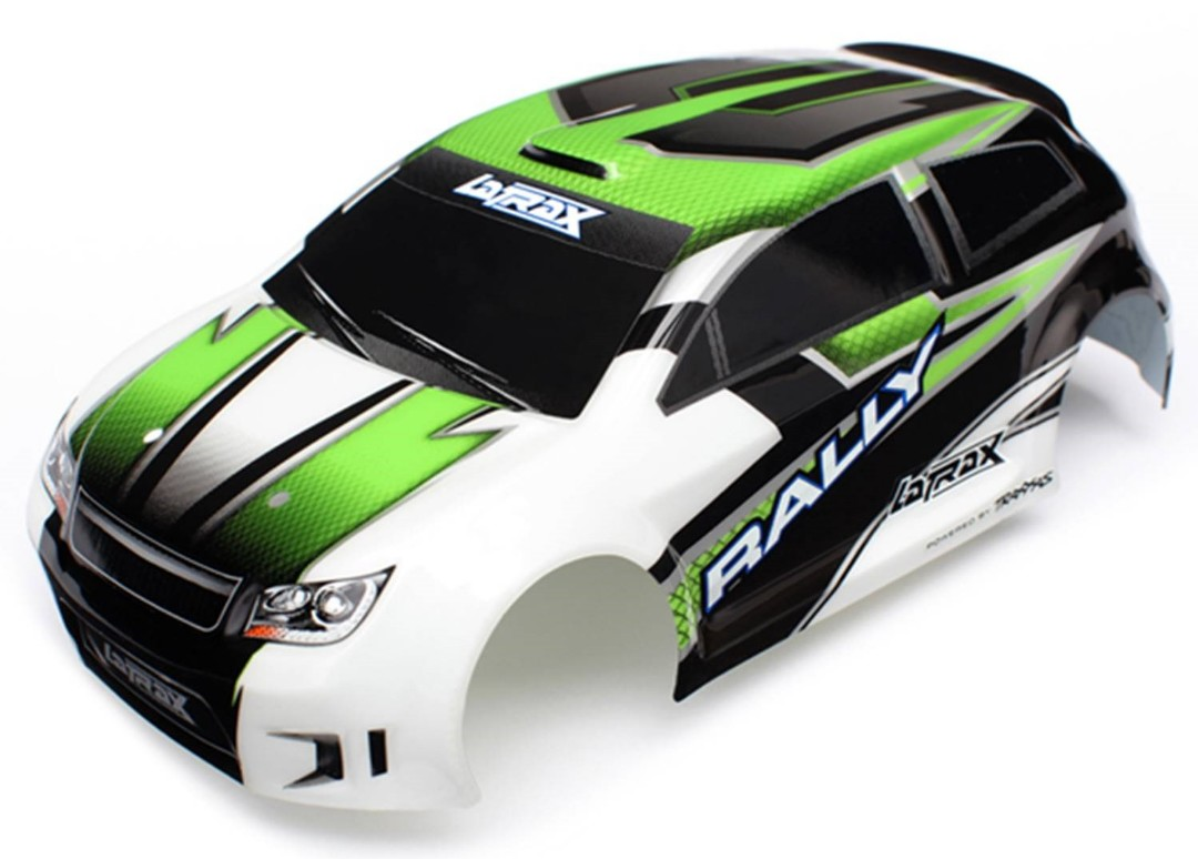 Traxxas Body (Green), LaTrax 1/18 with Decals