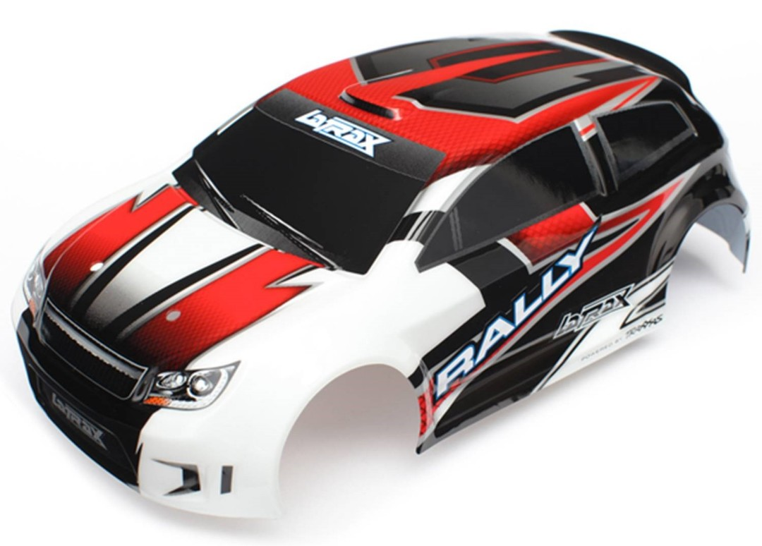 Traxxas Body (Red), LaTrax 1/18 with Decals