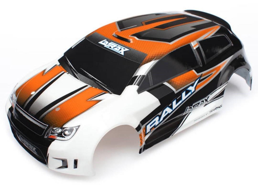 Traxxas Body (Orange),LaTrax 1/18 with Decals