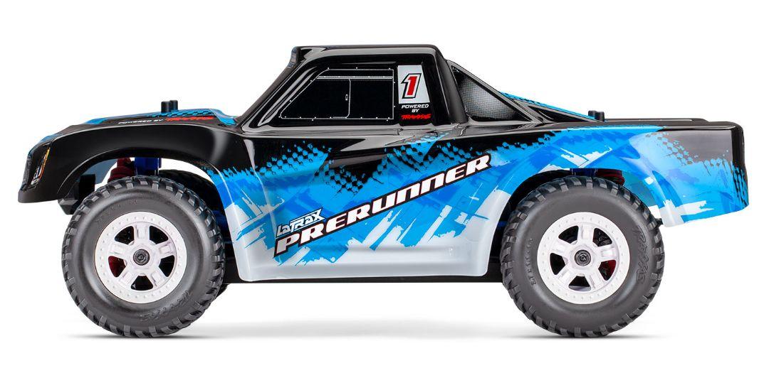 Traxxas LaTrax Desert Prerunner 1/18 4WD RTR Racing Truck BlueX - Click Image to Close