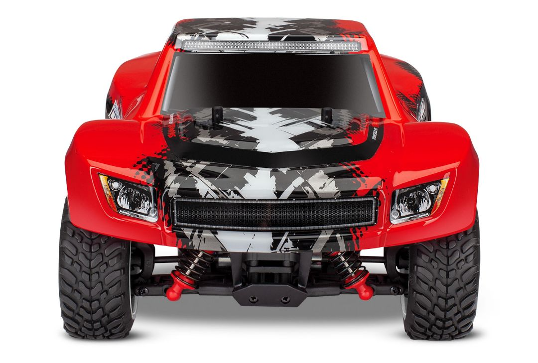Traxxas LaTrax Desert Prerunner 1/18 4WD RTR Racing Truck RedX - Click Image to Close