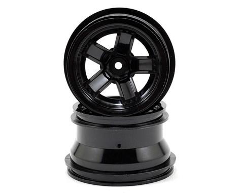 Traxxas LaTrax Teton 5 Spoke Wheels (Black) (2)