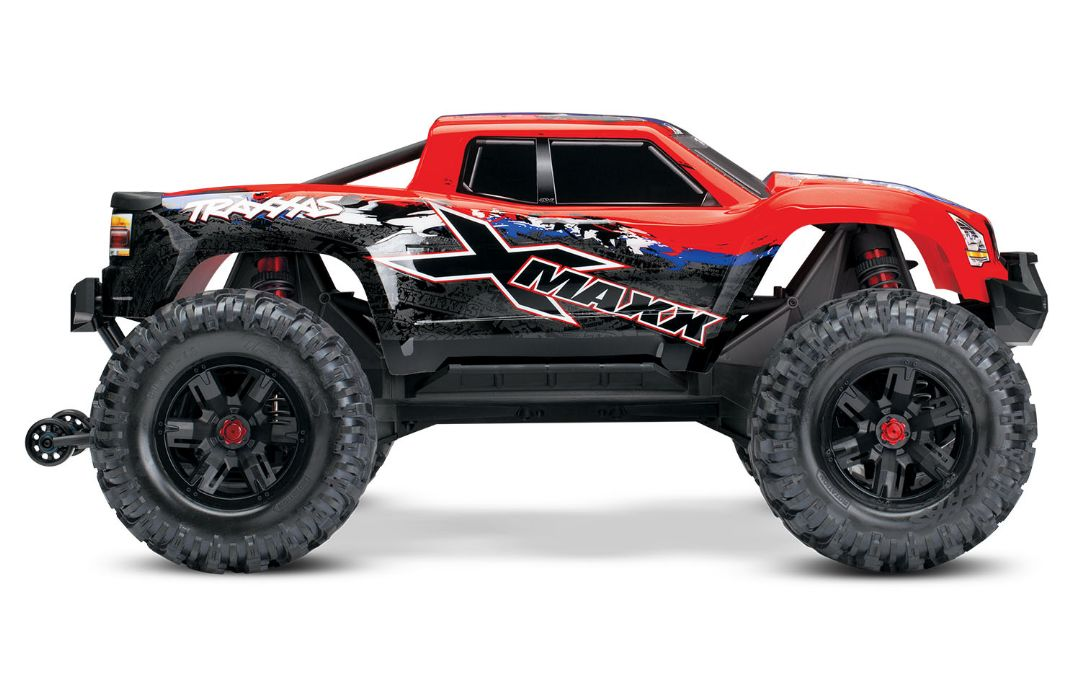 Traxxas X-Maxx 4WD Brushless RTR 8S Monster Truck - RedX - Click Image to Close