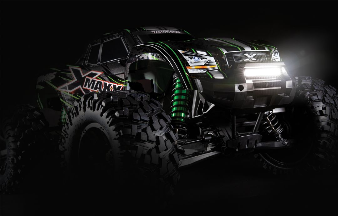 Traxxas X-Maxx High-Output LED Light Kit (includes headlights, tail lights, roof lights, and high-voltage power amplifier)