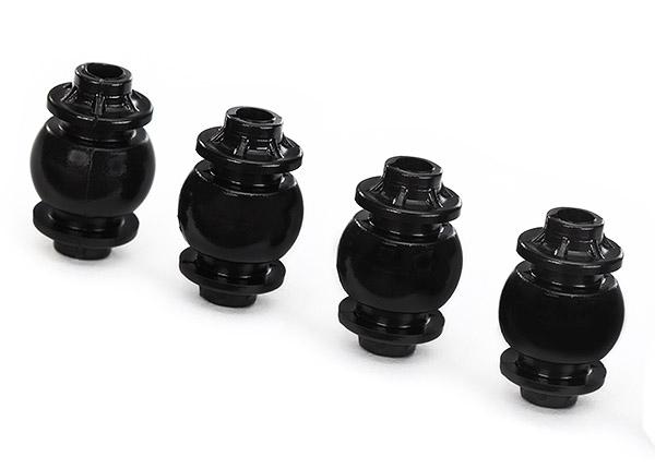 Traxxas Damper balls, anti-vibration, gimbal (4) (yellow dot)/ camera mount (4)
