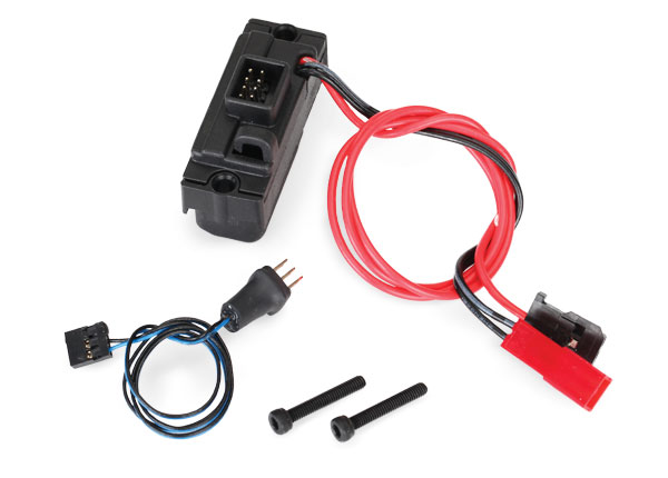 Traxxas LED lights, power supply (regulated, 3V, 0.5-amp),TRX-4/ 3-in-1 wire harness