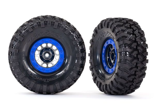 Traxxas Tires and wheels, assembled, glued (Method 105 1.9