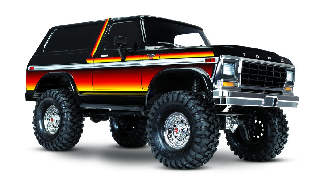 Traxxas TRX4 1979 Ford Bronco 1/10 Crawler, XL-5 HV, Titan 12T Sunset