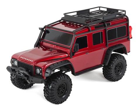 Traxxas TRX4 Land Rover Defender 1/10 Crawler, XL-5 HV, Titan 12T Red