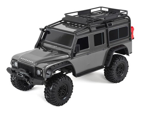 Traxxas TRX4 Land Rover Defender 1/10 Crawler, XL-5 HV, Titan 12T Silver