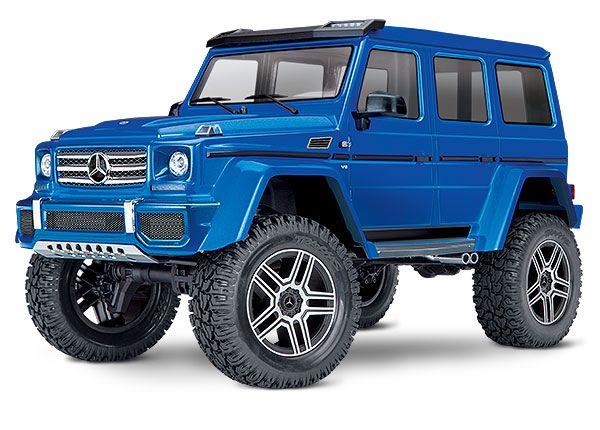 Traxxas TRX4 Mercedes G 500 4X4 1/10 Crawler, XL-5 HV, Titan 12T Blue (North American Only)