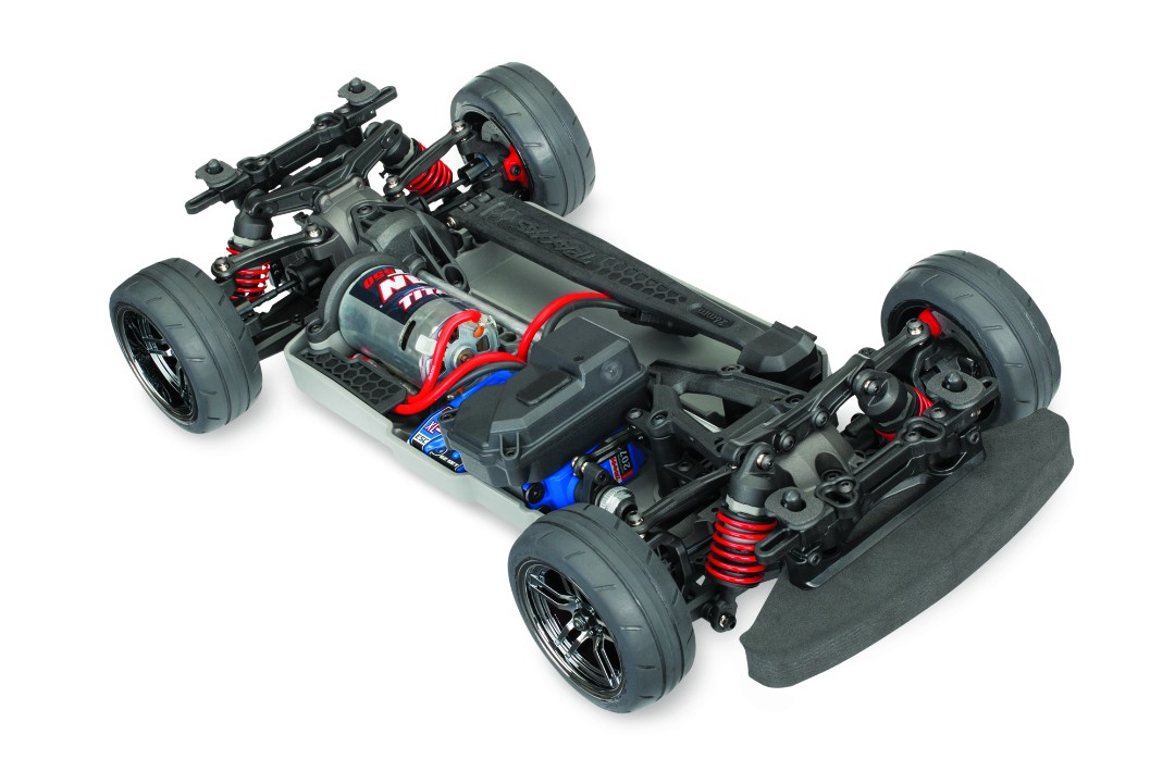 Traxxas 4-Tec 2.0 XL-5 AWD Chassis-Only: 1/10 Scale AWD On-Road, Fully-Assembled, Waterproof, With TQ 2.4GHz Radio System, XL-5 Electronic Speed Control. Requires: 200mm Body, Battery and Charger