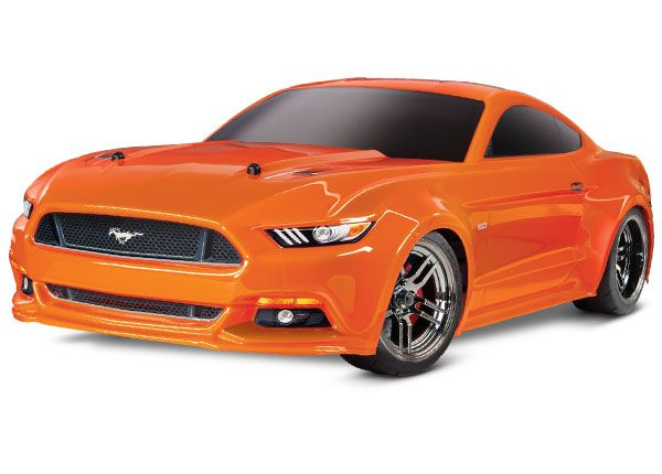 Traxxas Ford Mustang GT: 1/10 Scale AWD Supercar with TQ 2.4GHz radio system - Orange