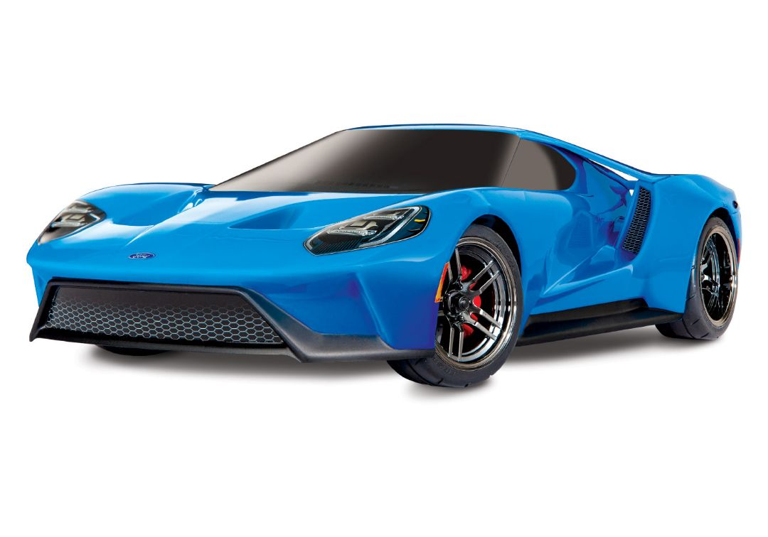 Traxxas Ford GT 1/10 Scale AWD BlueX Supercar