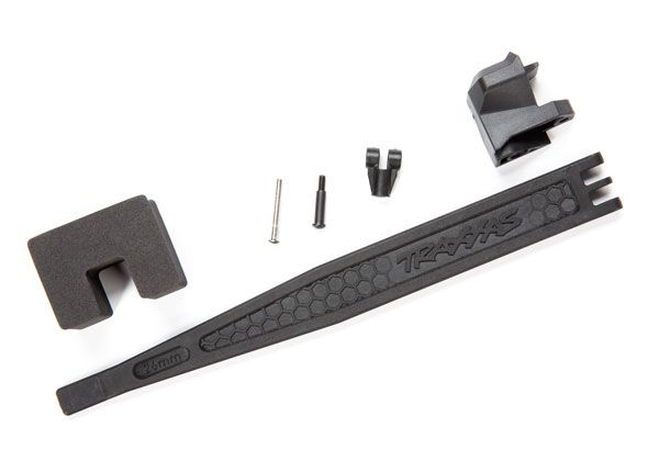 Traxxas Battery hold-down/ battery clip/ hold-down post/ foam sp
