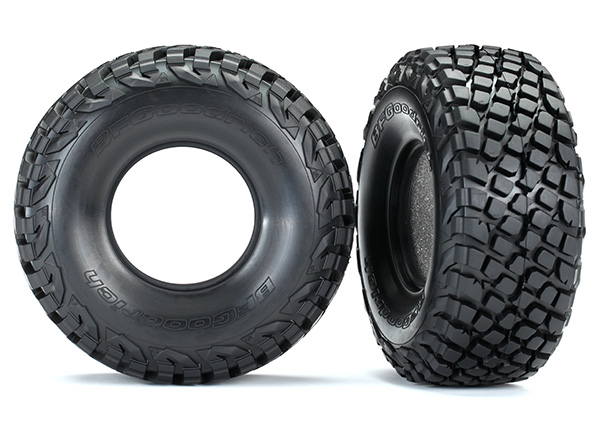 Traxxas Tires, BFGoodrich Baja KR3/ foam inserts (2)