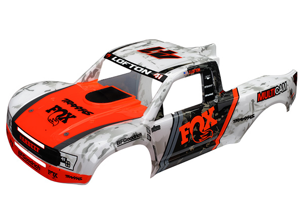 Traxxas Body, Unlimited Desert Racer Trophy Truck, Fox Edition (painted)/ decals