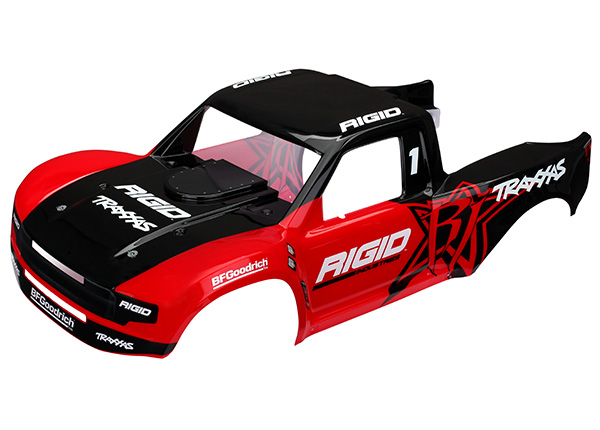 Traxxas Body, Unlimited Desert Racer Trophy Truck, Rigid Edition (painted)/ decals