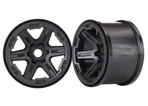 Traxxas Wheels, Carbide 3.8