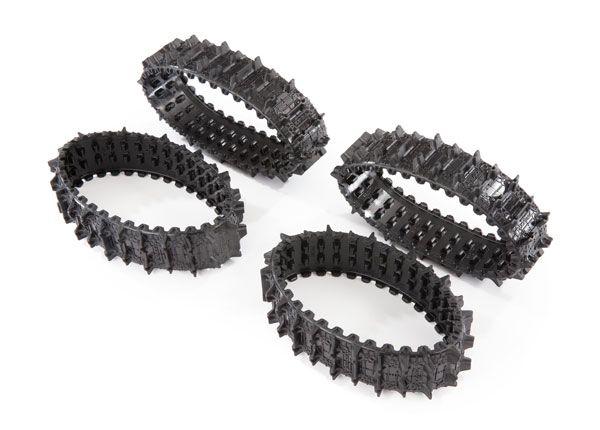 Traxxas Treads, Deep-Terrain, TRX-4 Traxx (complete set, front & rear) (rubber) (4)