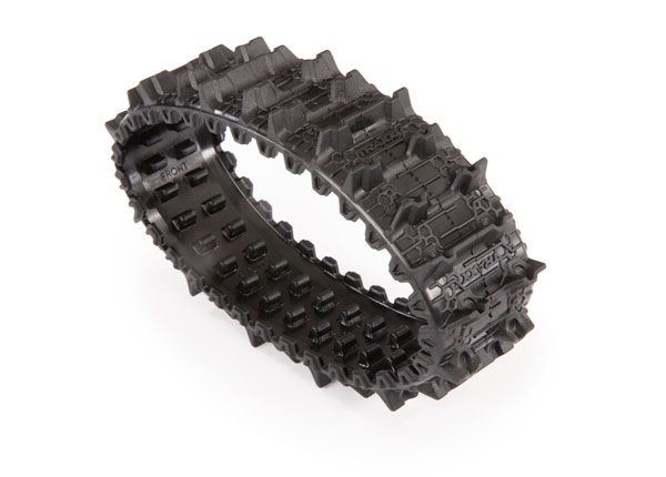 Traxxas Treads, Deep-Terrain, TRX-4 Traxx (front, left or right) (rubber) (1)