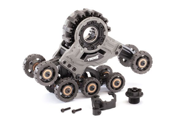 Traxxas Traxx, TRX-4 (4) (front left) (requires 8886 stub axle, 7061 GTR shock & 8895 rubber track)
