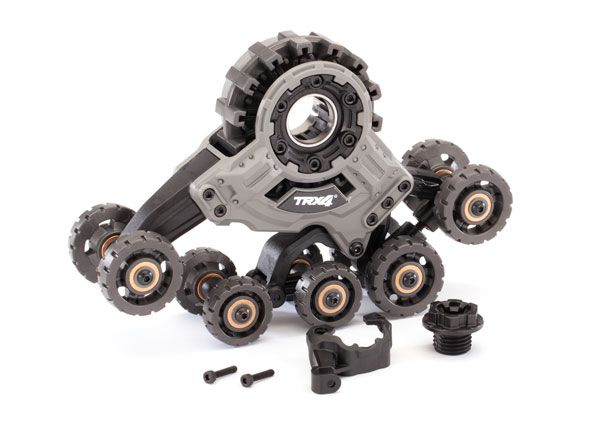 Traxxas Traxx, TRX-4 (4) (front right) (requires 8886 stub axle, 7061 GTR shock & 8895 rubber track)