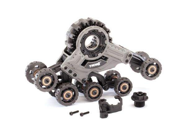 Traxxas Traxx, TRX-4 (4) (rear left) (requires 8886 stub axle, 7061 GTR shock & 8896 rubber track)